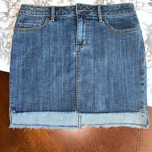 NWT Melrose and Market Denim Skirt